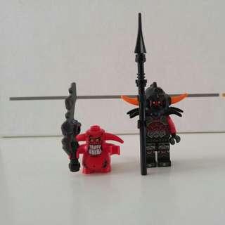 Lego NEXO KNIGHTS evil characters