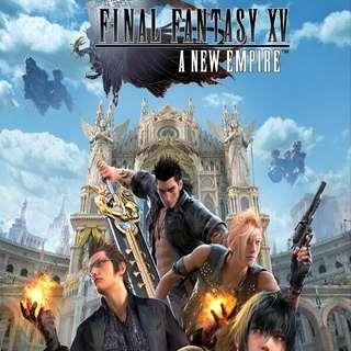 WTS Final Fantasy XV: A New Empire Profile