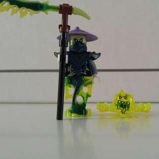 Lego ninjago ghost minifigures