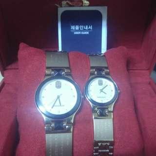 로만손 불교 광명진언 시계
