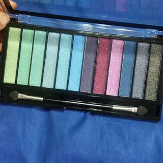 Eyeshadow Palette (Mermaids VS Unicorns Shades) London Revolution Brand