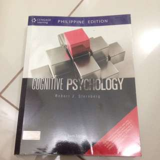 Cognitive Psychology by Sternberg (6th ed)
