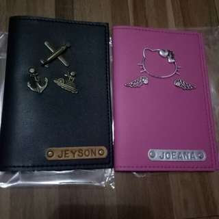 Passport Holder Leatherette and Customize