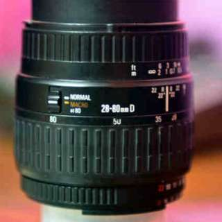 Sigma 28-80mm F3.5-5.6 Aspherical Macro Lens for Nikon DSLR & SLR Cameras