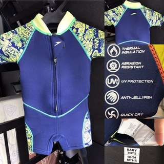 Speedo Thermal Swimming Suit for 18-24 months