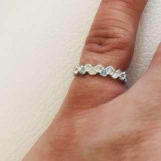 Swarovski pinky ring size 44