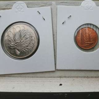 "Singapore First Series ""Marine"" coin set"