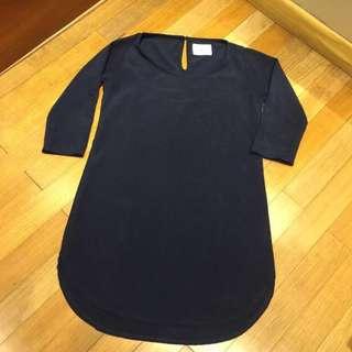 Fylo Navy Dress