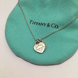 Tiffany&Co Classic Heart Necklace