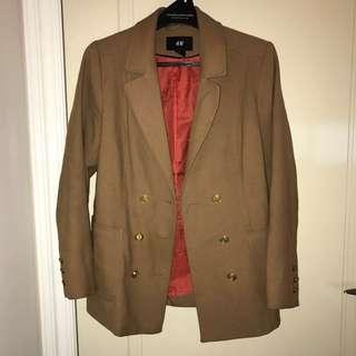 H&M beige jacket