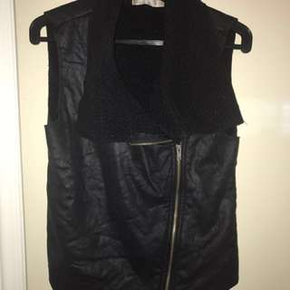 Women's black vest