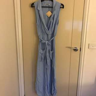 Womens blue dress