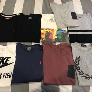 Men's Tshirts and Shirts
