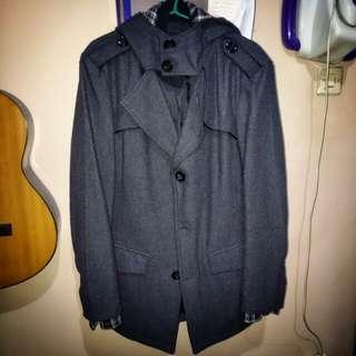 Jaket / Mantel / coat dark grey (wool)
