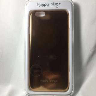 HAPPY PLUG Gold Case for iPhone 6/6s