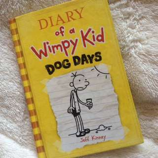 Hard bound Diary of a Wimpy Kid (Dog Days)