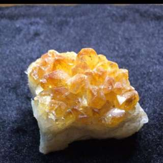 ❤️BUY ME❤️ 💯% Natural Raw Citrine Cluster