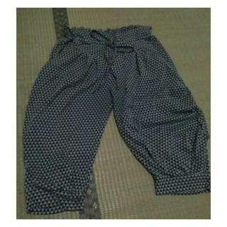 Geometric Harem Pants