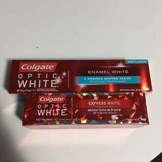 Colgate Enamel White & Optic White