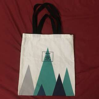 Two way tote bag