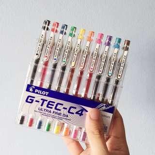 Pilot G-Tec Colored Signpen