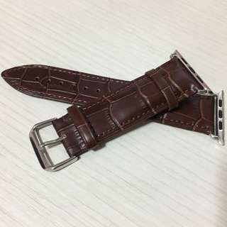 iwatch strap (42mm) - brown leather