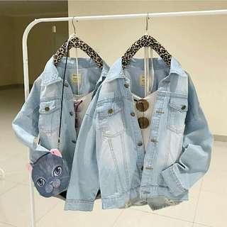 Basic Jaket Jeans