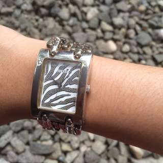 [REPRICED] GUESS WATCH Silver