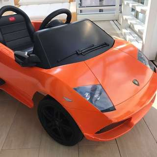 Rechargeable Kids Racing Car With Motor