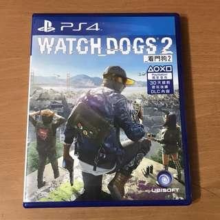 PS4 Watchdog 2 看門狗 2 - 中文版