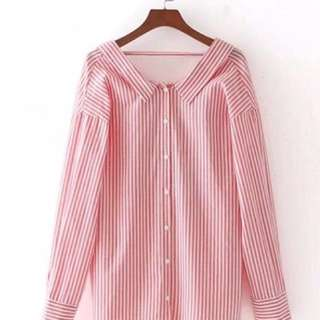 Stripe shirt (import)