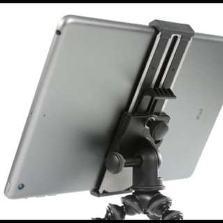 Ipad holder with Tripod screw base