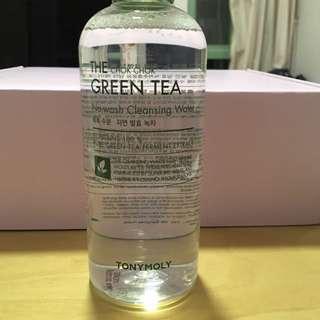 Tony Moly The Chok Chok Green Tea No-wash Cleansing Water_300ml