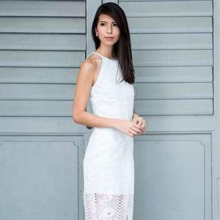BNWT Ohvola Anastasia Lace Sheath Dress