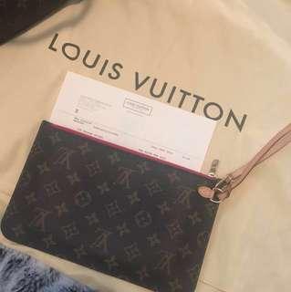 Authentic Louis Vuitton - Neverfull Pochette