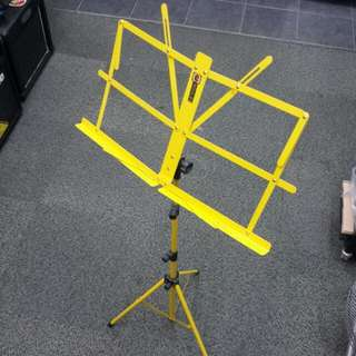 Yellow Music Stand - postage included