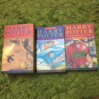 Harry Potter 哈利波特1,2&4