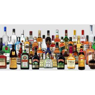 All liquor from DFS Changi Airport