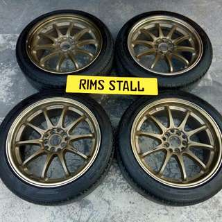 "Volk Racing CE28 17"" 5x100/5x114"
