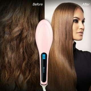 Hair comb straightener