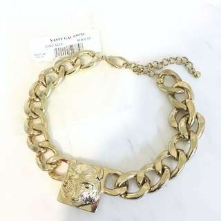 NASTY GAL golden chain necklace