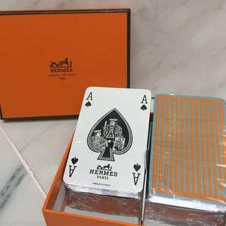 HERMES愛馬仕-H迷宮圖案撲克牌