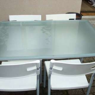 IKEA Laver Table & 4 Chairs.