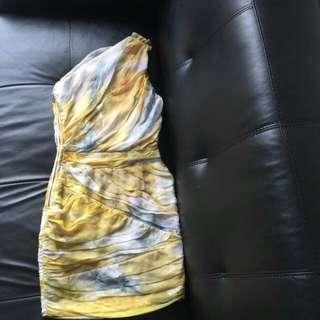 Nicholas formal toga one shoulder dress