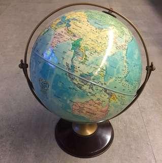 Vintage world globe #3