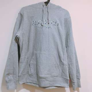 SUPREME Mulit color classic logo hooded sweatshirt