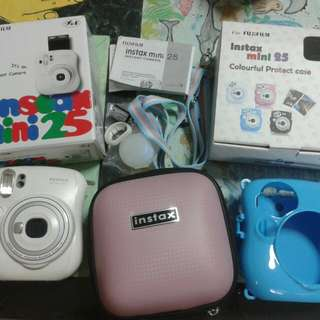 instax mini 25 (selling everything)