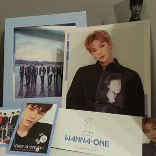 [RESERVED][Readystock]Wanna One Album(Sky Ver)