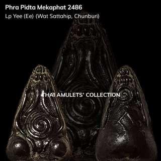 Phra Pidta Mekaphat (Mekapat) 2486 LP Yee (Ee)