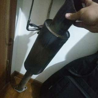 Honda Jazz GD1 J's Exhaust